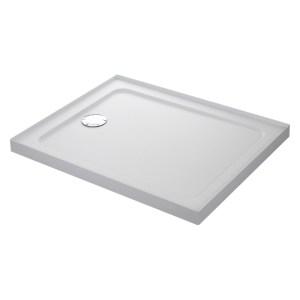 Mira Flight Safe 900 x 760mm Shower Tray, 4 Upstands
