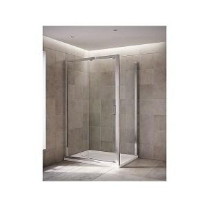 Mira Leap Sliding Door 1100mm Silver