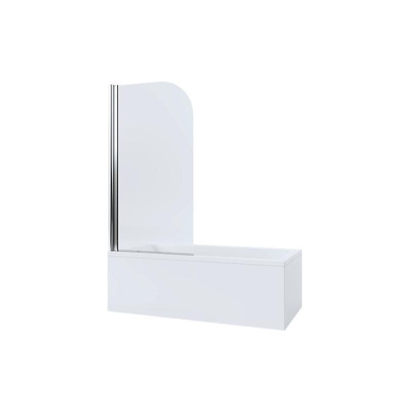 Mira Single Panel Curved Bathscreen