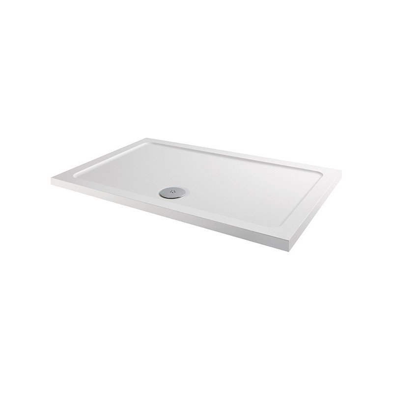 MX Elements 800 x 760mm Rectangular Anti-Slip Shower Tray