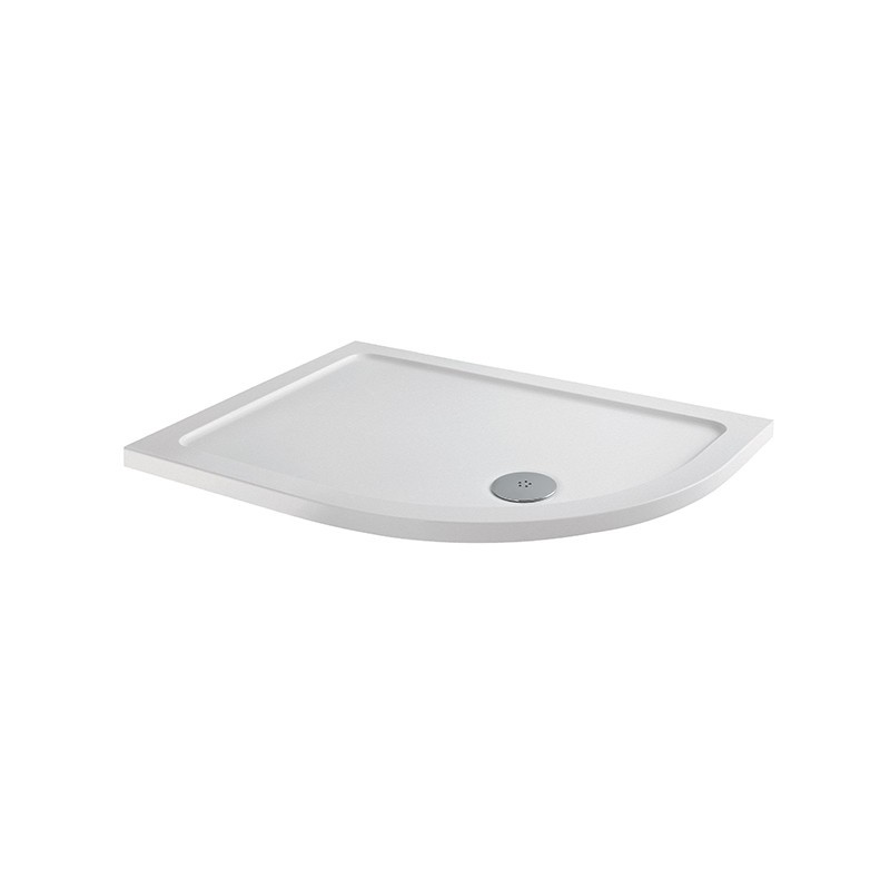 MX Elements 1000 x 900mm Anti-Slip Offset Quadrant Right Hand Tray
