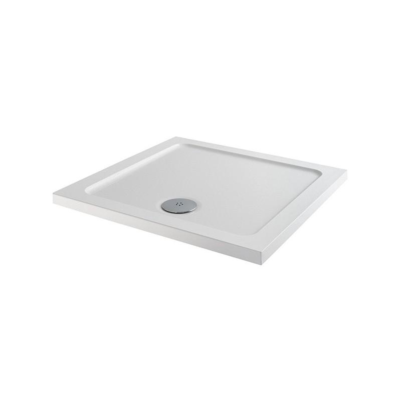 MX Elements 700 x 700mm Square Anti-Slip Shower Tray