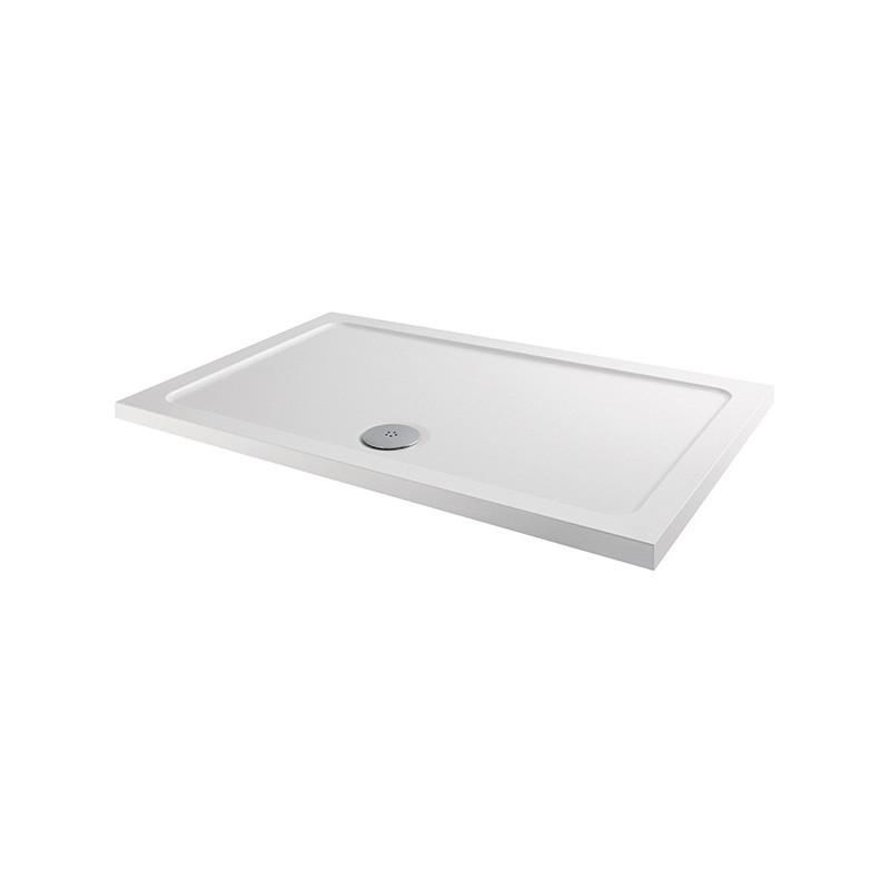 MX Elements 1200 x 700mm Rectangular Anti-Slip Shower Tray