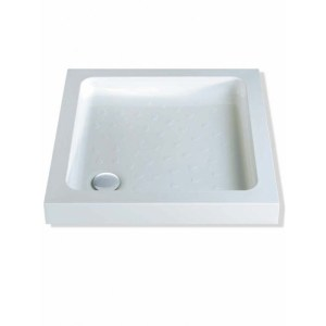 MX Classic 760 x 760mm ABS Shower Tray & 50mm Waste