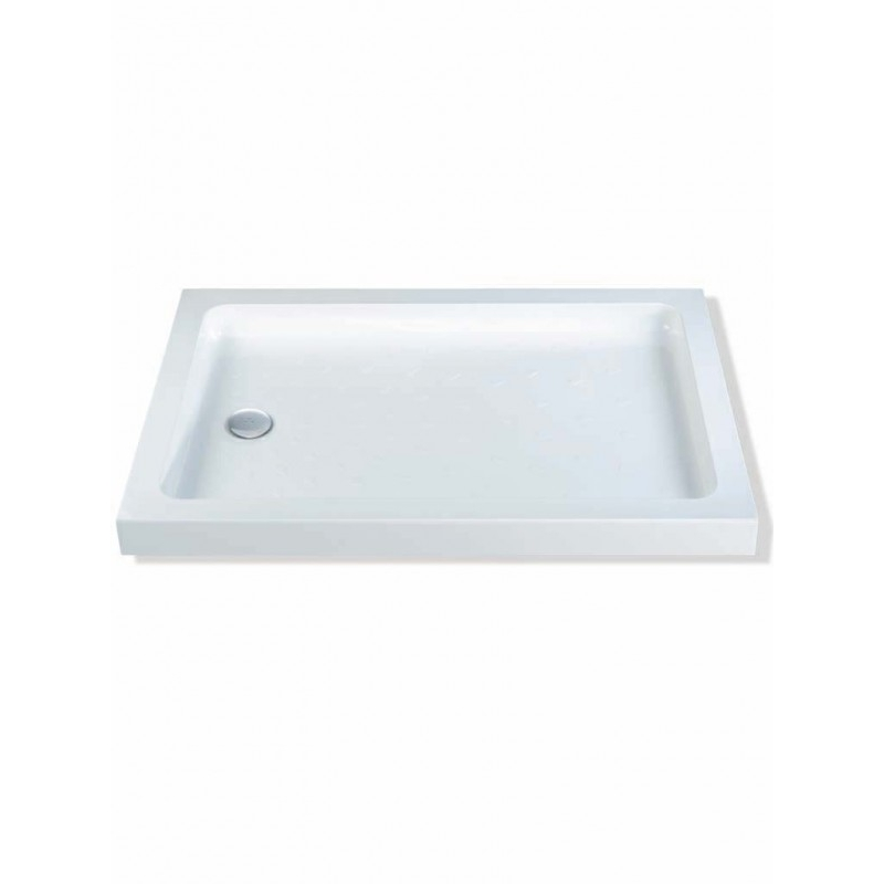 MX Classic 1200 x 800mm Shower Tray & 50mm Waste