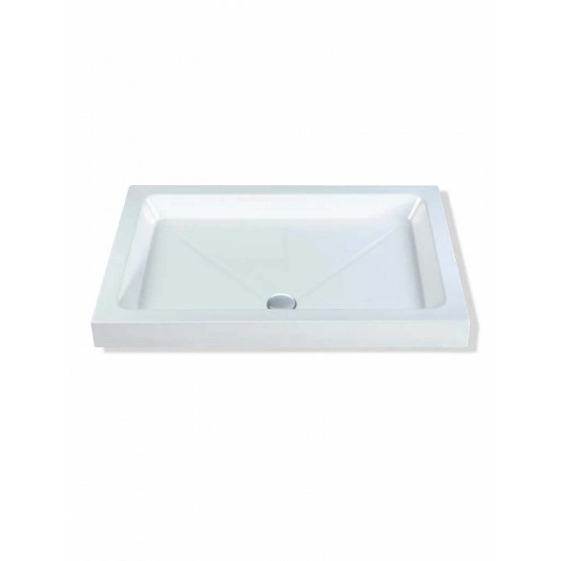 MX Classic 1600 x 800mm Shower Tray & 90mm Waste