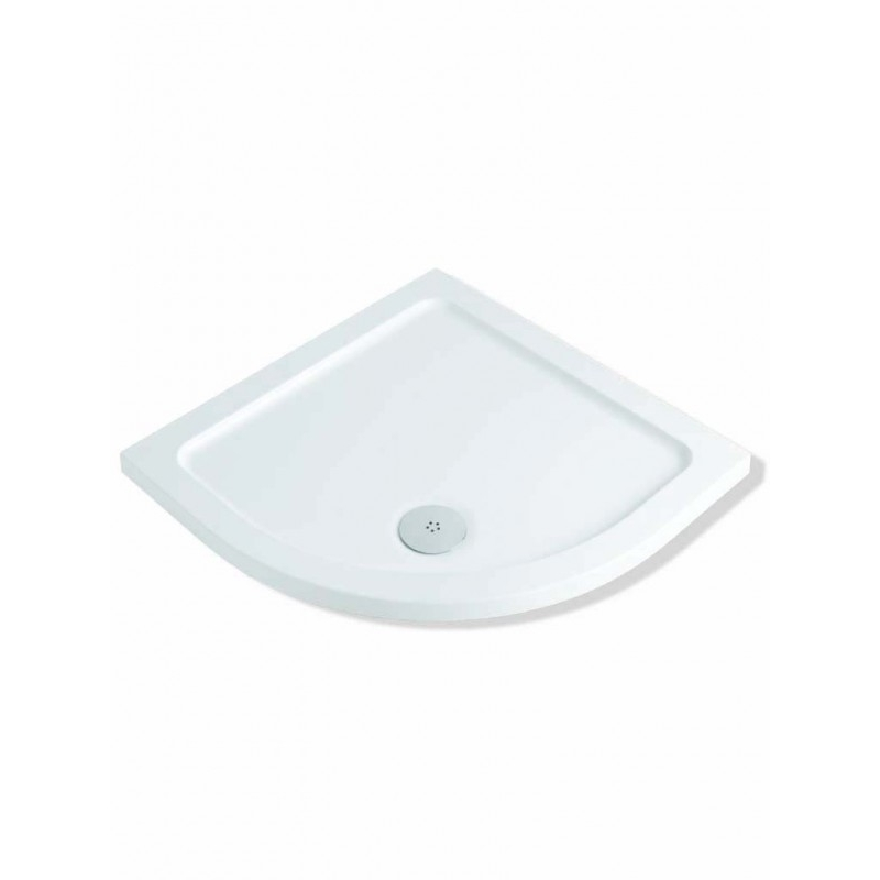 MX Elements 1000 x 1000mm Quadrant Shower Tray & 90mm Waste