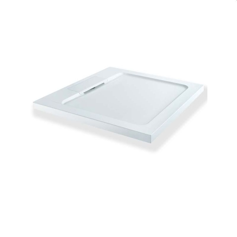 MX Expressions 900 x 900mm ABS Stone Shower Tray & Waste