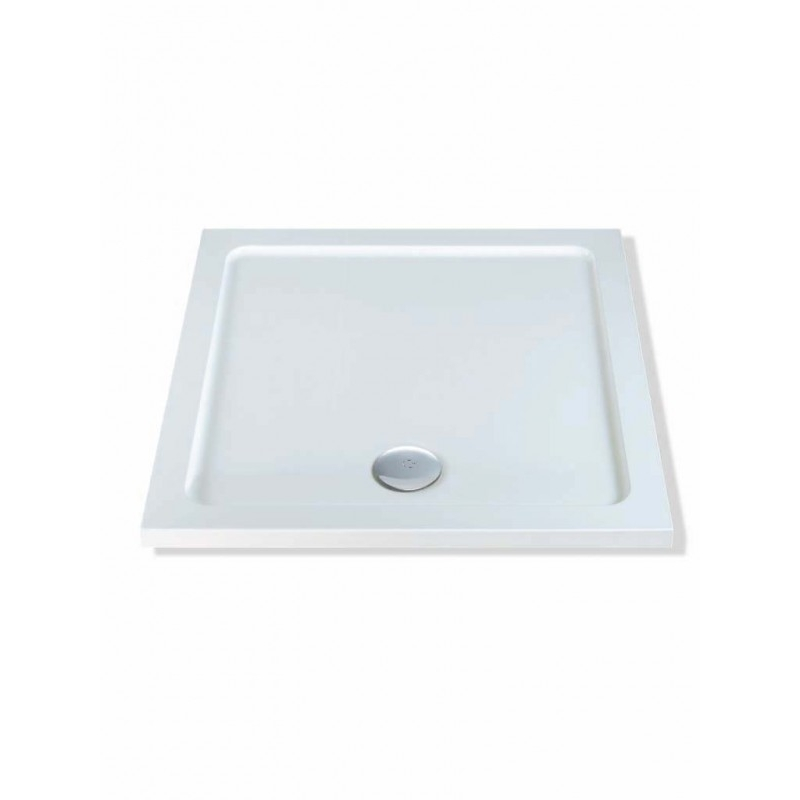 MX DucoStone Low Profile 900 x 900mm Shower Tray & 90mm Waste