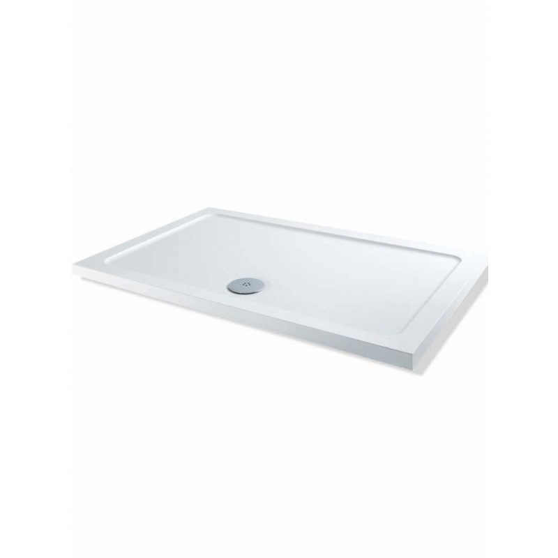 MX DucoStone Low Profile 1000 x 760mm Shower Tray & 90mm Waste