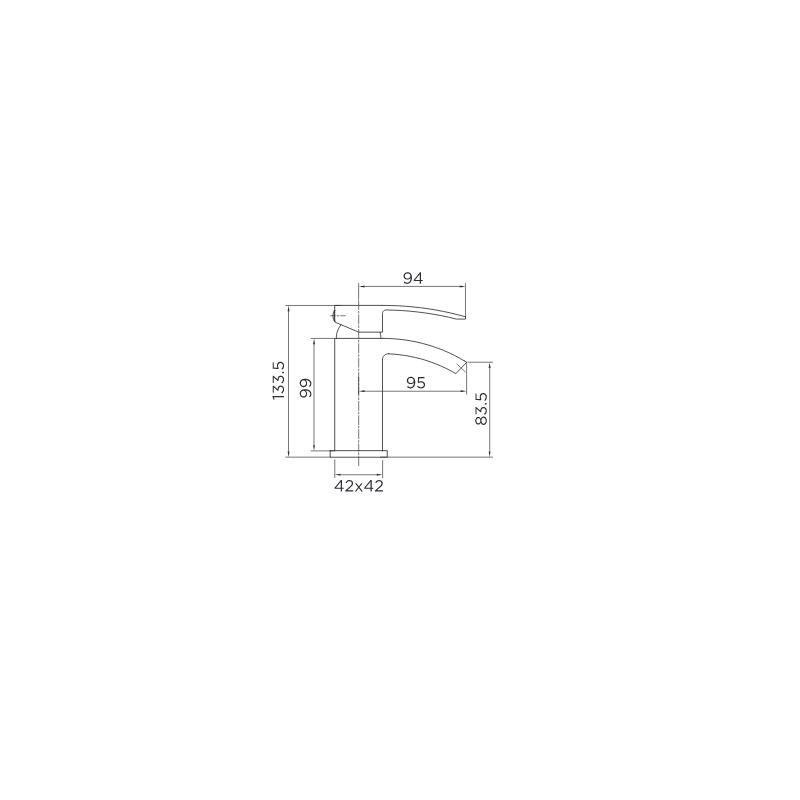 Niagara Pimlico Mini Basin Mixer