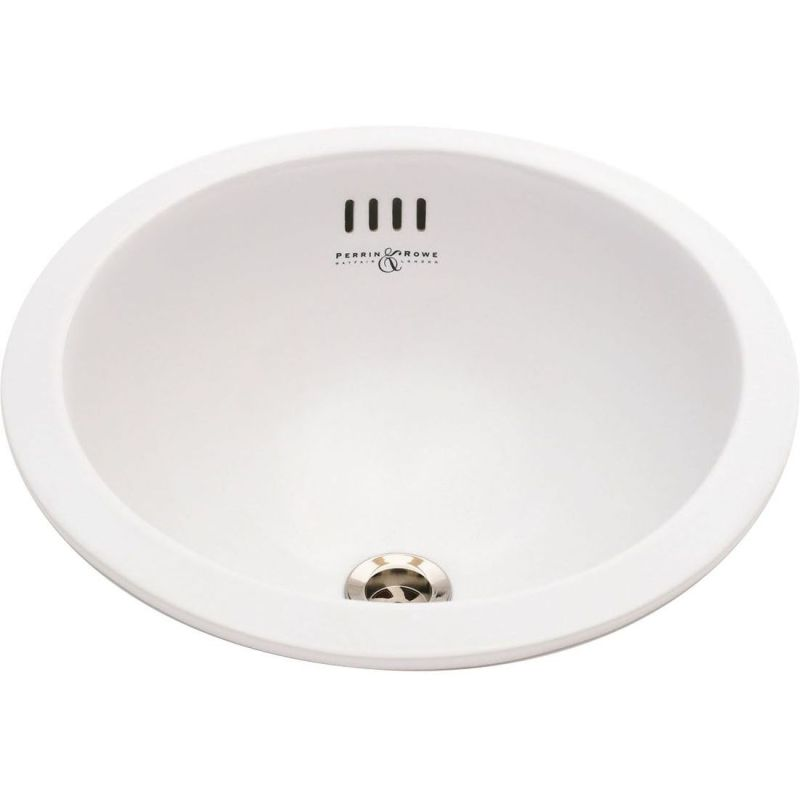 Perrin & Rowe Surface/Undermounted Vanity Bowl with Overflow
