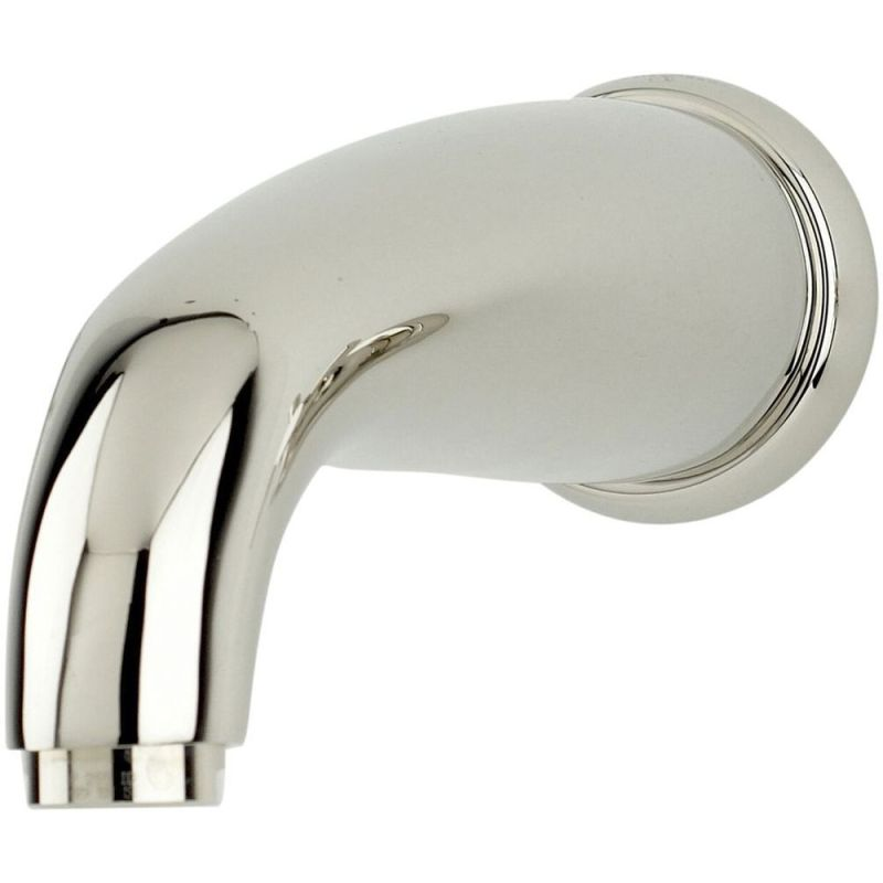 Perrin & Rowe Wall Mounted Bath Spout Pewter