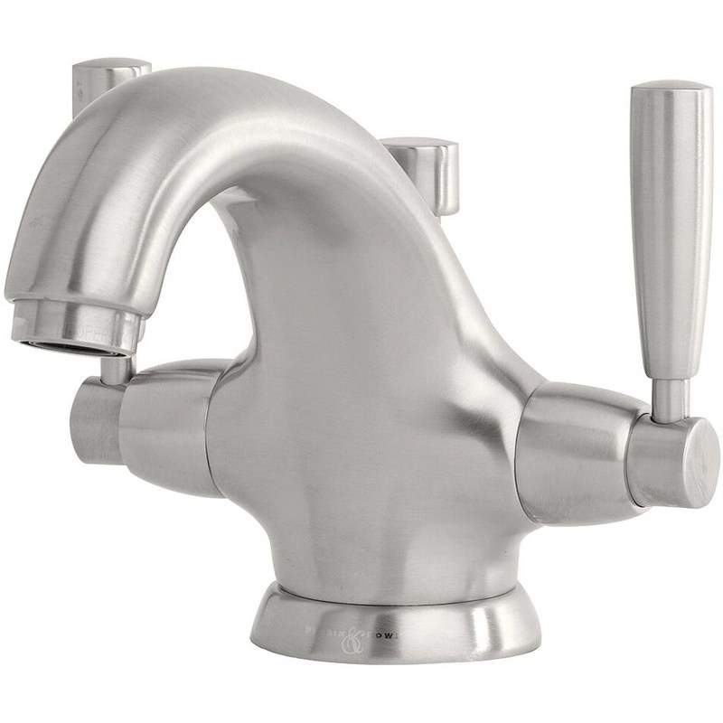 Perrin & Rowe Monobloc Basin Mixer with Lever Handles Chrome