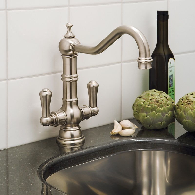 Perrin & Rowe Picardie Sink Mixer with Levers Chrome