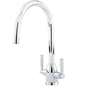 Perrin & Rowe Oberon Sink Mixer with C Spout Chrome