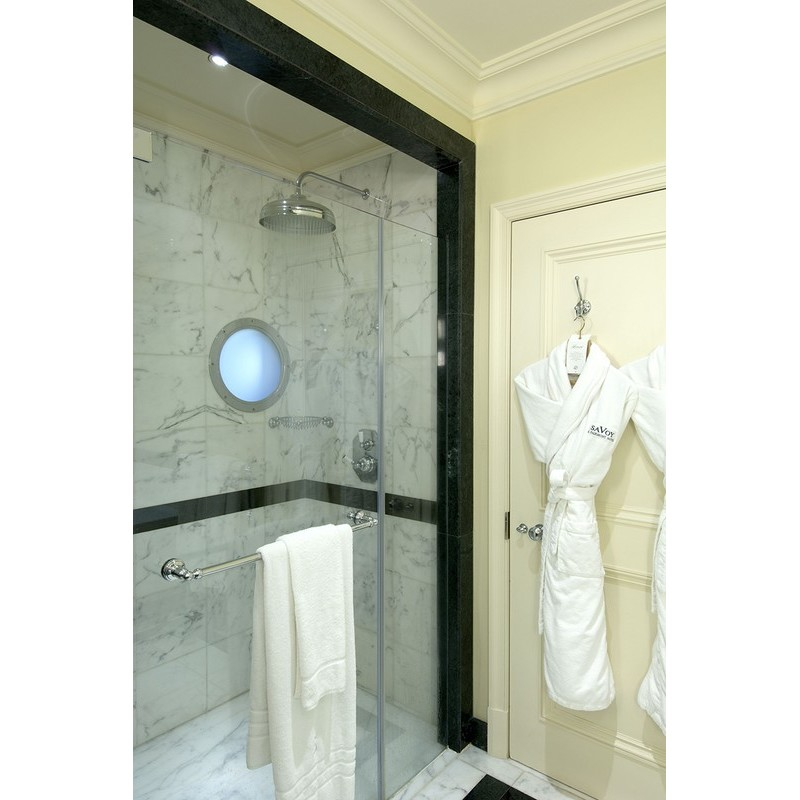 """Perrin & Rowe 12"""" Shower Rose Gold"""
