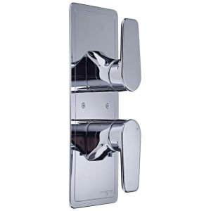 Perrin & Rowe Hoxton Concealed Shower with Diverter Nickel