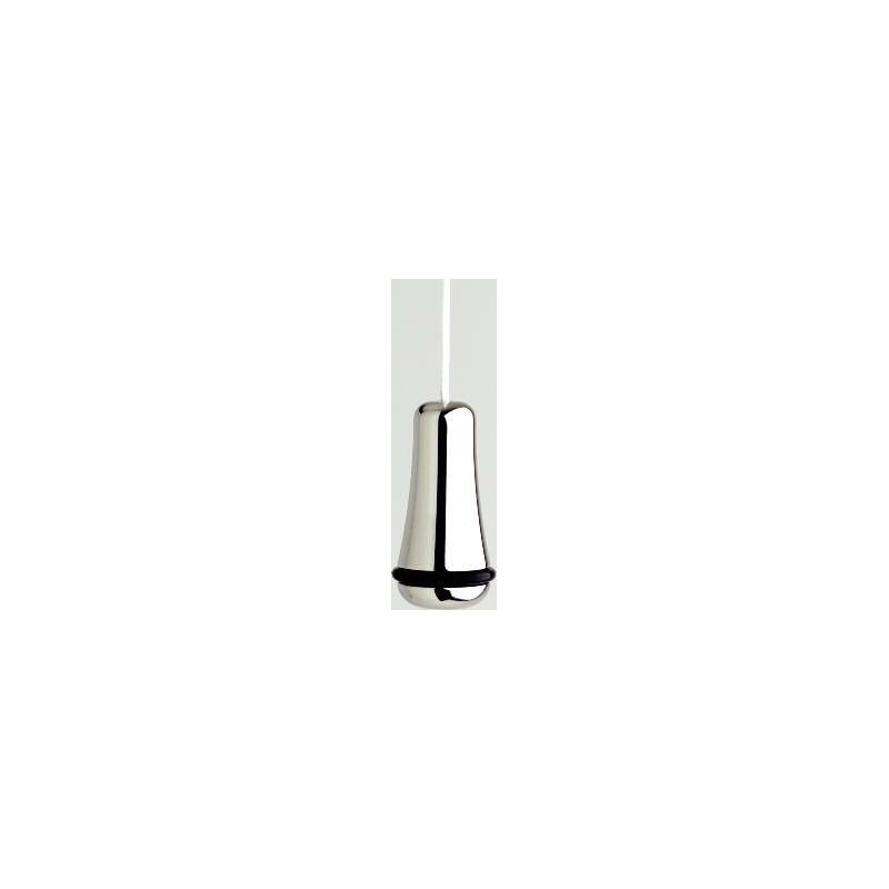 Perrin & Rowe Traditional Light Pull, 40mm Height, Nickel