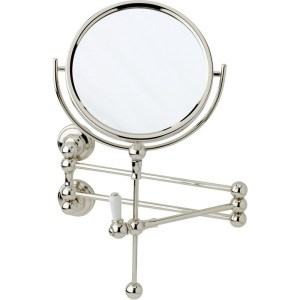 Perrin & Rowe Wall Mounted Shaving Mirror Chrome