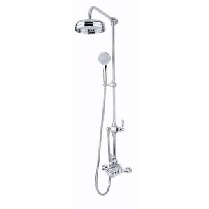Perrin & Rowe Contemporary Shower Set A One Chrome