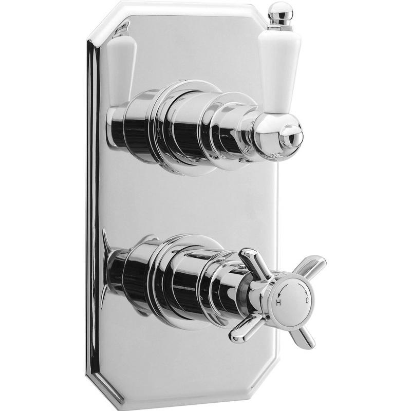 Premier Edwardian Twin Thermostatic Shower Valve