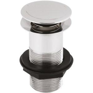 Premier Push Button Basin Waste Unslotted