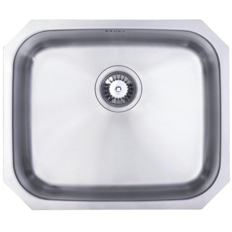 Prima 1B Large Undermount Sink Polished Steel