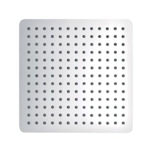 Pura Slimline Stainless Steel Square 300mm Shower Head