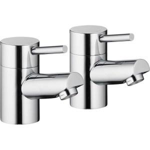 Pura Xcite Bath Pillar Taps (Pair)