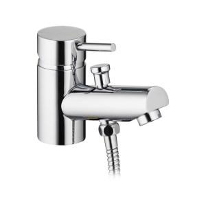 Pura Xcite Mono Bath Shower Mixer with Kit