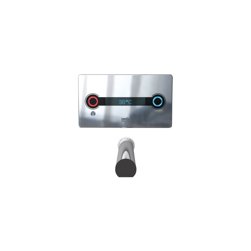 Rada ACU-T3 Concealed Digital Mixing Valve with 190mm Spout