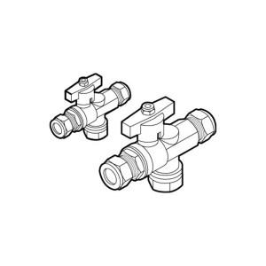 Rada Meynell 22mm Isolation/Strainer Unit