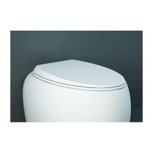 RAK Cloud Soft Close Urea Toilet Seat Matt Alpine White