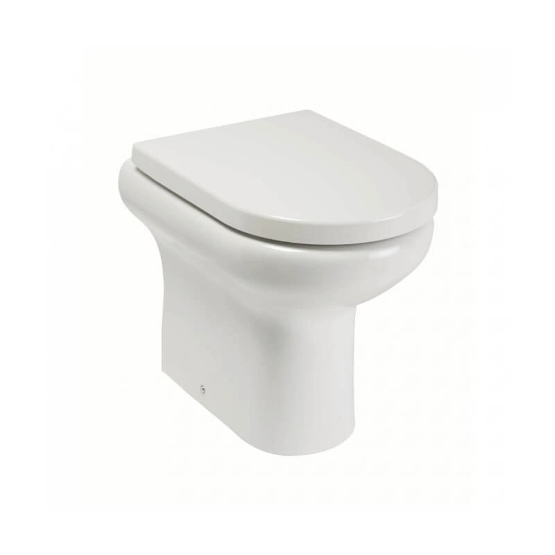 RAK Compact Special Needs 42.5cm High Back To Wall WC Pan