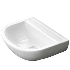 RAK Compact 50cm Special Needs Basin No Tap Hole