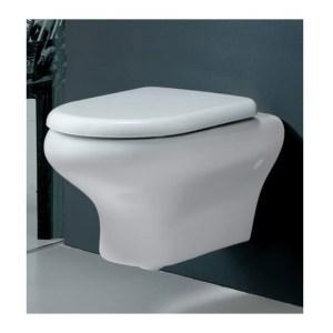 RAK Compact Wall Hung Pan with Soft Close Seat