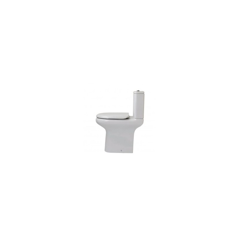 RAK Compact Extended Deluxe Rimless Full Access WC Pack