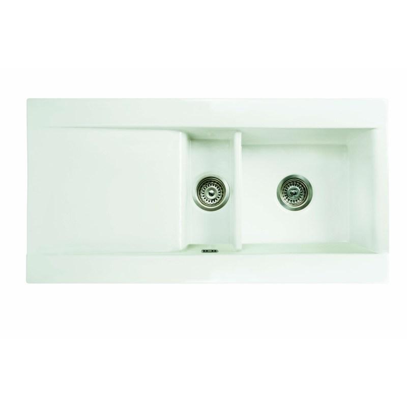 RAK Gourmet Dream Sink 1 with 1.5 Bowl & Single Drainer