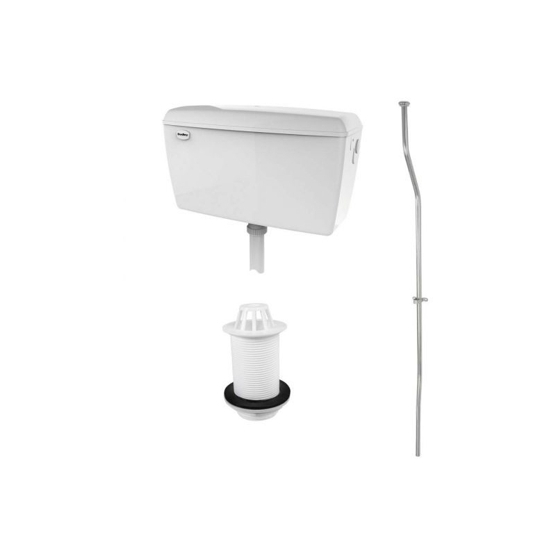 RAK Exposed 4.5 Litre Urinal Cistern Pack for 1 Urinal