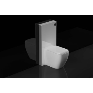RAK Obelisk Cistern Cabinet for Back To Wall Pan White