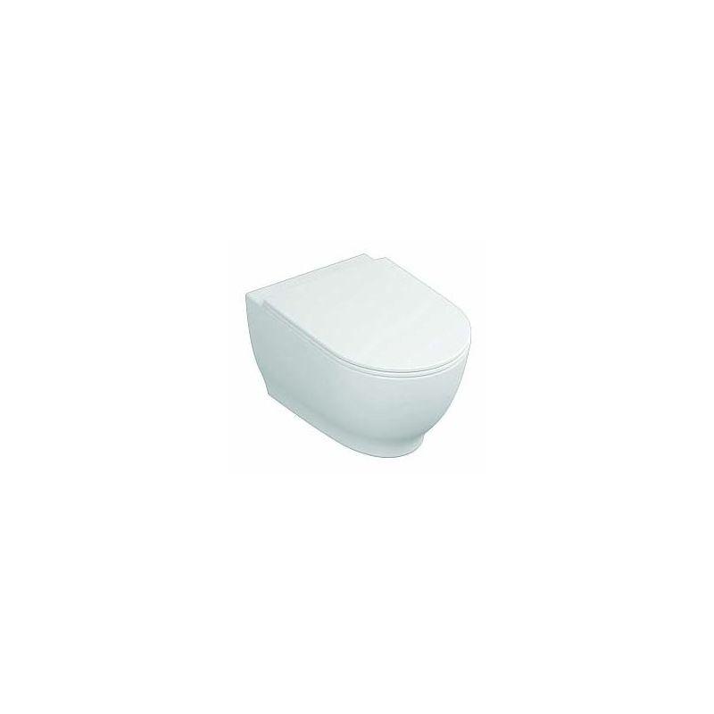 RAK Moon Wall Hung Pan with Soft Close Seat