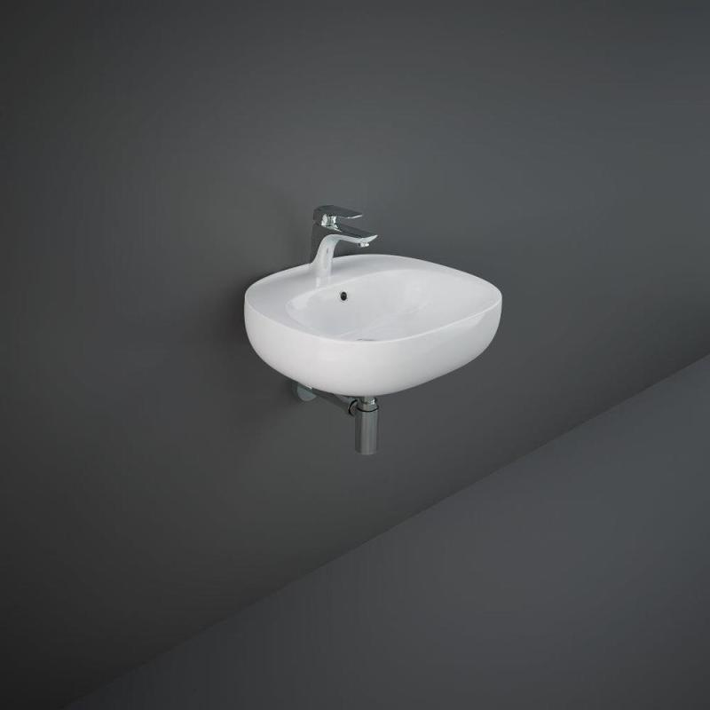 RAK Illusion Wall Hung Wash Basin 50cm