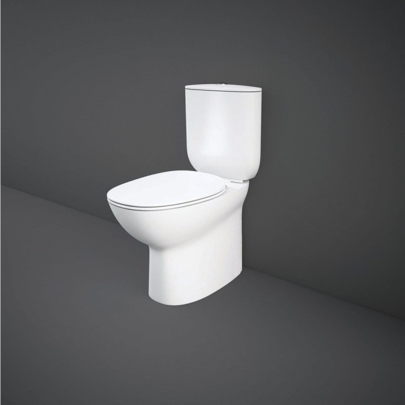 RAK Morning Back To Wall Rimless WC Pack with Soft Close Seat