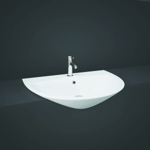 RAK Morning 55cm Semi Recessed Basin 1 Taphole