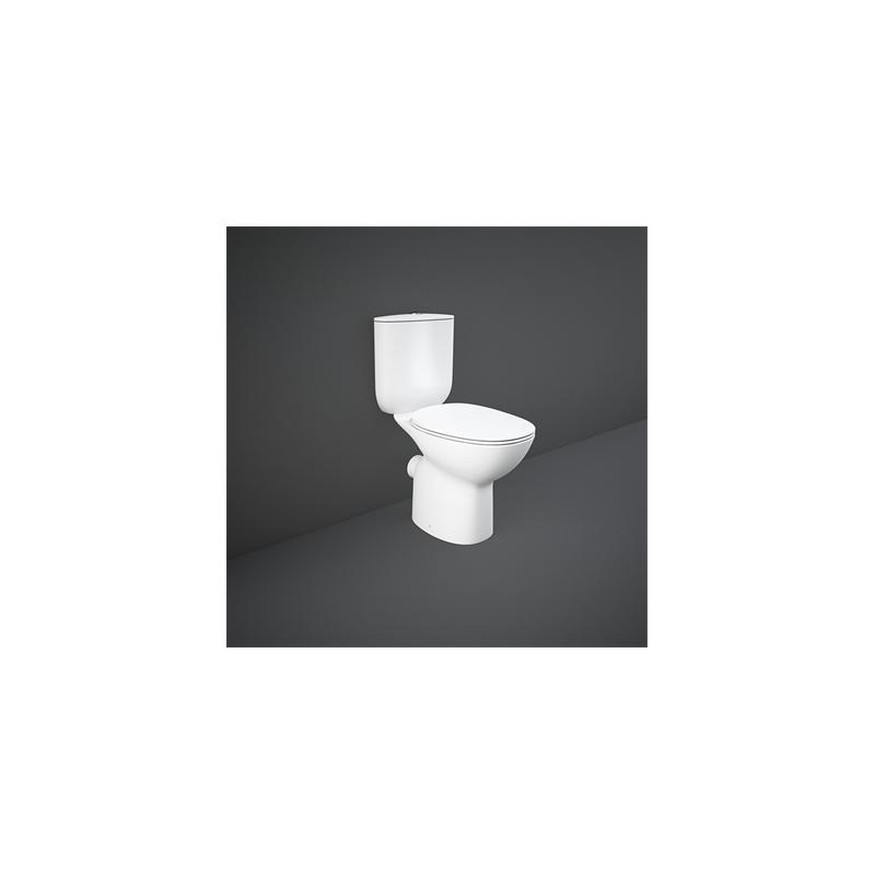 RAK Morning Full Access Rimless Close Coupled WC Pan