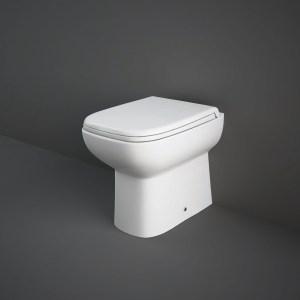 RAK Origin Back To Wall Pan with Soft Close Urea Seat