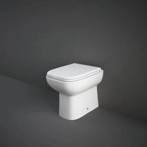 RAK Origin Back To Wall Pan with Soft Close PP Seat