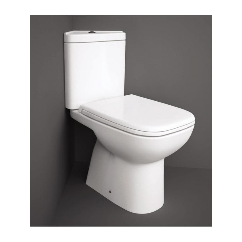 RAK Origin Corner Full Access WC Pak with Urea Seat
