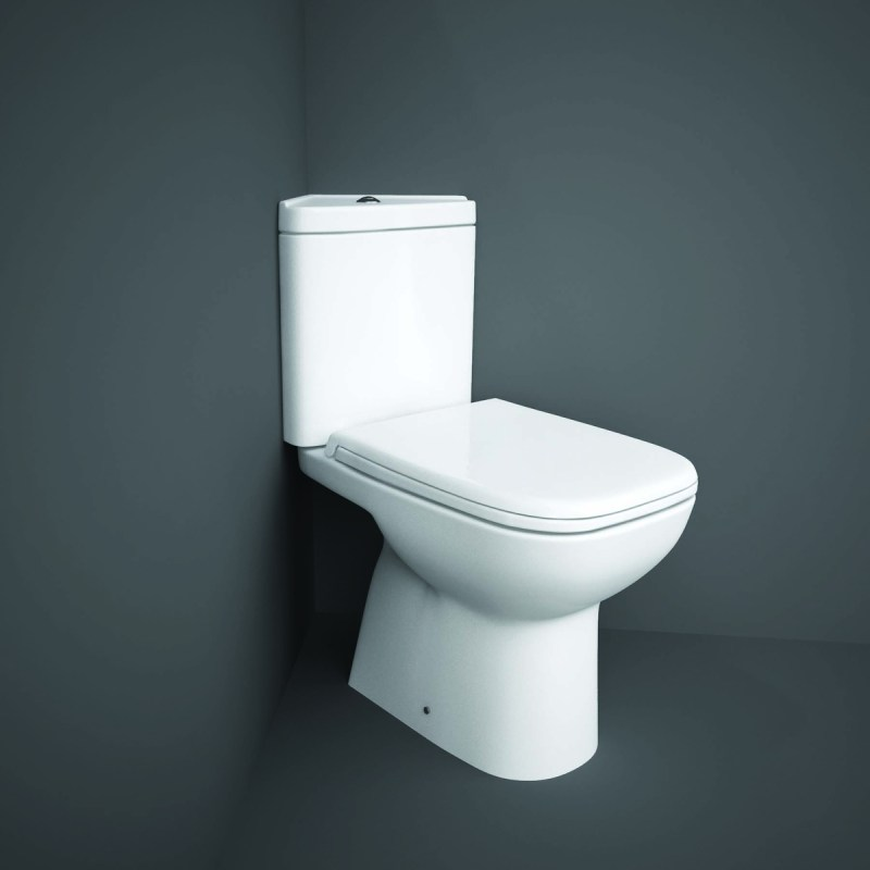 RAK Origin Corner Full Access WC Pack with PP Seat